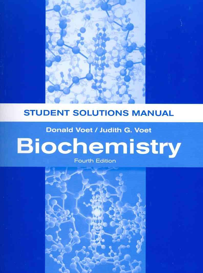 Biochemistry By Voet, Donald/ Voet, Judith G.